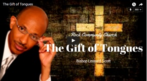 the gift of tongues displayed in